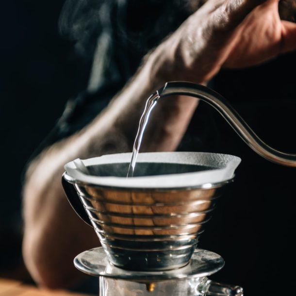 Barista Making Calita Drip
